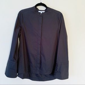 Derek Lam 10 Crosby Wide Cuff Button Down Shirt